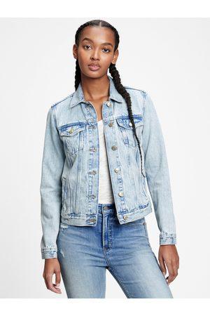 GAP Dámská džínová bunda icon denim jacket