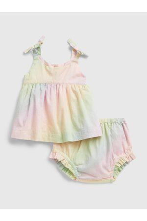 GAP Barevný holčičí baby set may outfit