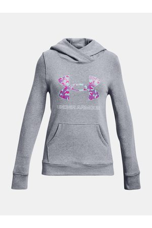 Under Armour Mikina Rival Fleece Logo Hoodie