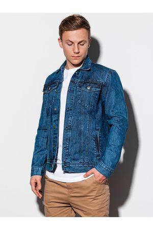 Ombre Clothing Pánská riflová bunda C441 - jeans