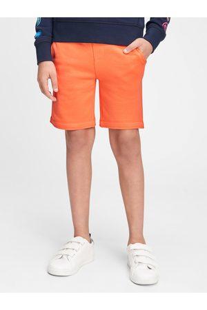 GAP Oranžové klučičí dětské kraťasy Logo pull-on shorts