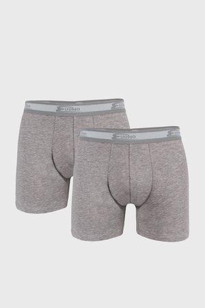 Cotonella 2 PACK šedých boxerek UOMO Every