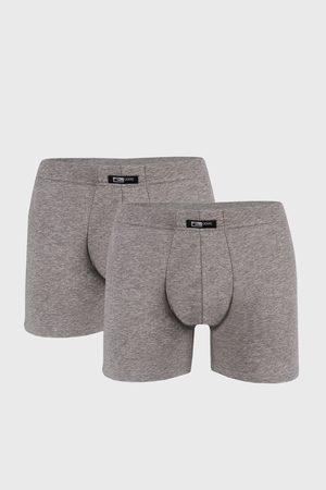Cotonella 2 PACK šedých boxerek Uomo Home