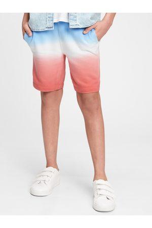 GAP Barevné klučičí dětské kraťasy Logo pull-on shorts
