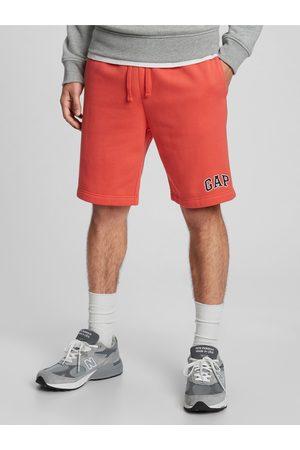 "GAP Červené pánské kraťasy Logo 9 shorts in fleece """