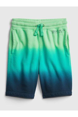 GAP Zelené klučičí dětské kraťasy Logo pull-on shorts