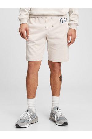 GAP Šedé pánské kraťasy Logo arch shorts