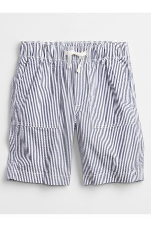 GAP Modré klučičí dětské kraťasy pull-on shorts