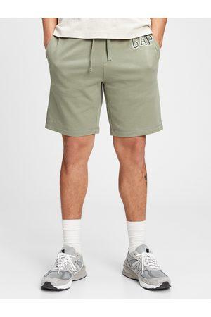 GAP Zelené pánské kraťasy Logo arch shorts