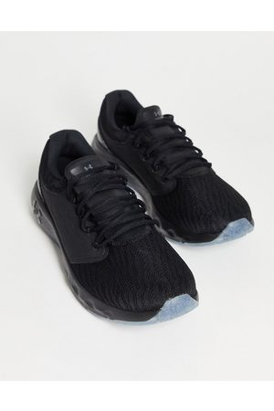 Under Armour Running Charged vantage trainers in black