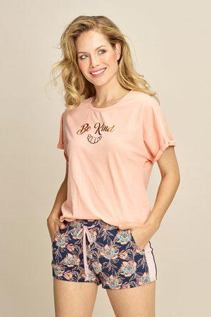 Charlie Choe Ženy Tepláky na spaní - Dámské tričko na spaní Be kind
