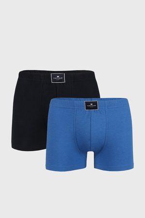 TOM TAILOR 2 PACK modrých boxerek Palm
