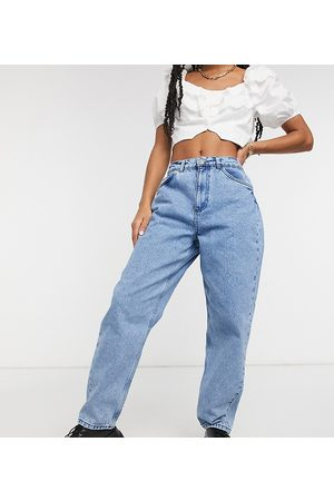 Reclaimed Vintage Inspired The '92 relaxed mom jean in mid blue wash
