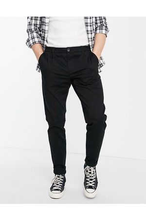 Only & Sons Muži Chino - Chino in slim fit black