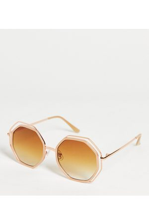 South Beach Sunglasses with gold frames