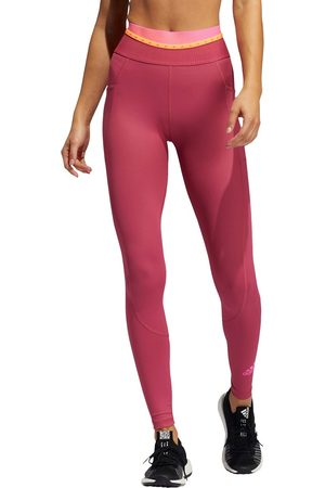 adidas Ženy Legíny - Adidas Training leggings with taped logo in pink