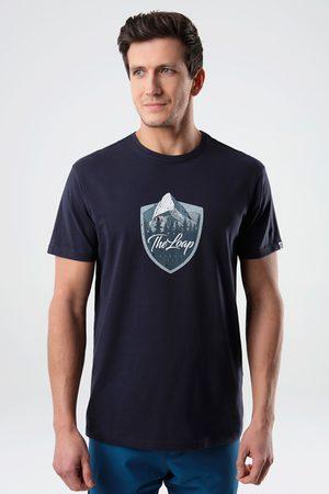 LOAP Muži Trička - Modré tričko Alesh