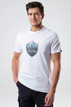 LOAP Muži Trička - Bílé tričko Alesh