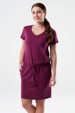LOAP Ženy Šaty - Dámské fialové šaty Blanka
