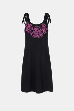 LOAP Dámské černé šaty Berunka