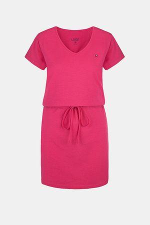 LOAP Ženy Šaty - Dámské růžové šaty Blanka