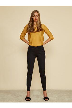 Zoot Černé dámské slim fit kalhoty Heather