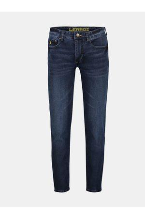 Lerros Tmavě modré pánské slim fit džíny