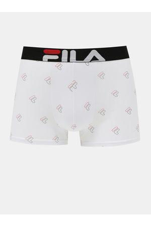 Fila Bílé vzorované boxerky