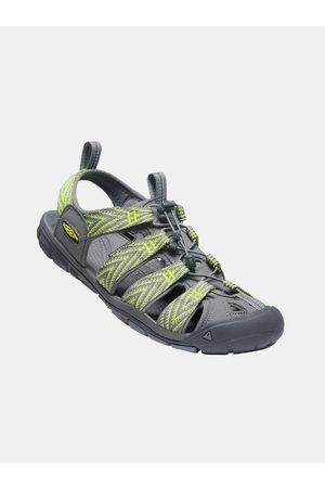 Keen Šedo-zelené pánské vzorované sandály