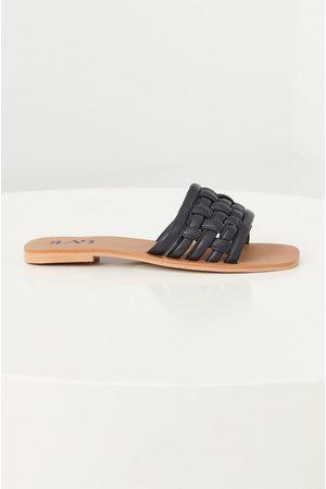 ANSWEAR Ženy Pantofle - Kožené pantofle