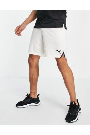 PUMA Training Drirelease 8 shorts in cream-White