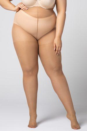 MONA QUEEN Punčochové kalhoty Plus Size Margaret 20 DEN