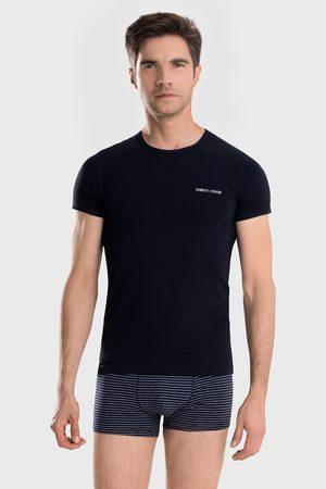 Enrico coveri Modrý SET trička a boxerek Alaric