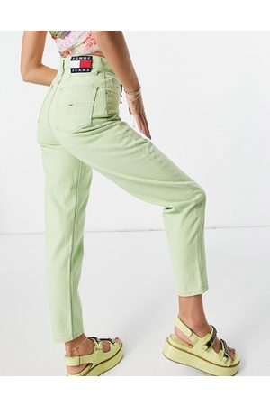 Tommy Hilfiger Mom jean in lime-Green