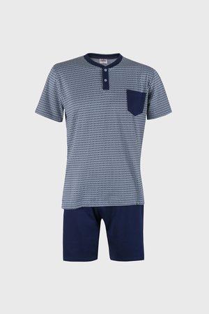 COTONELLA Modré pyžamo Freddy