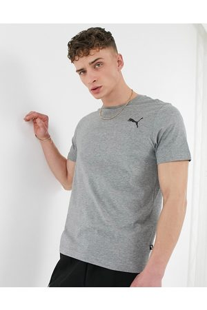 PUMA Essentials cat logo t-shirt in all grey