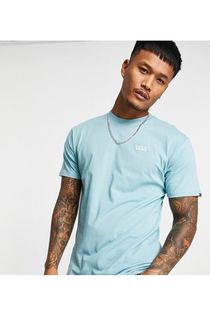 Vans Small Logo t-shirt in blue Exclusive at ASOS