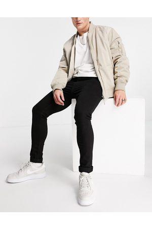 LDN DNM Muži Skinny - Super skinny fit jeans in black wash
