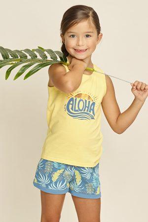 Charlie Choe Dívčí pyžamo Aloha Palms