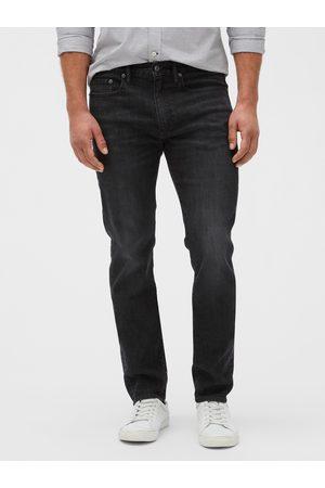 GAP Šedé pánské džíny soft wear slim jeans with Washwell