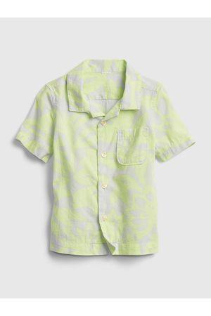 GAP Klučičí dětská košile shirt