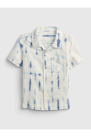 GAP Smetanová klučičí dětská košile shirt
