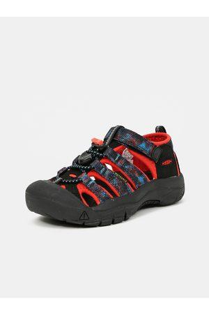Keen Sandály - Černé dětské vzorované sandály