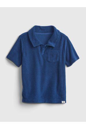 GAP Modré klučičí dětské polo tričko short sleeve shirt