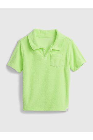 GAP Barevné klučičí dětské polo tričko short sleeve shirt