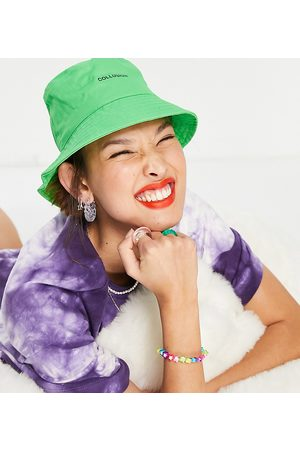 COLLUSION Ženy Klobouky - Bucket hat in neon green