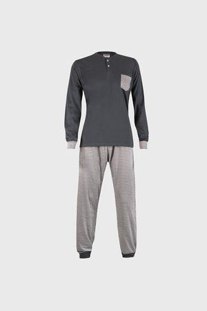 Cotonella Šedé pyžamo Casey