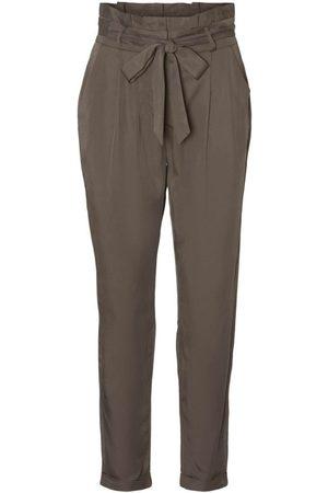 VERO MODA Ženy Capri - Kalhoty se sklady v pase