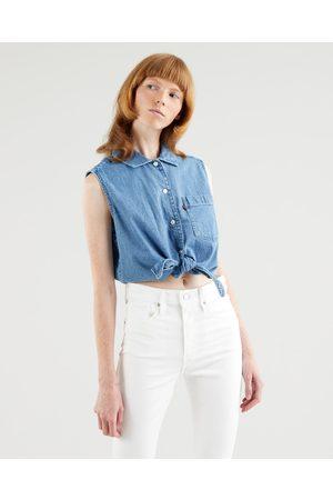 Levi's Ženy Crop top - Rumy Button Crop top