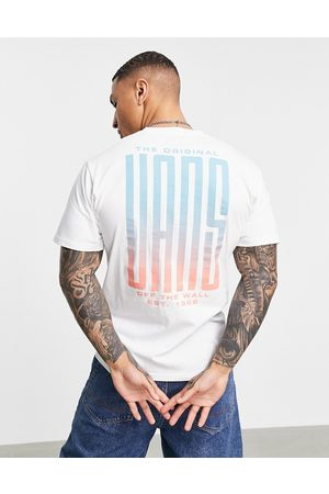 Vans Stretched back print t-shirt in white